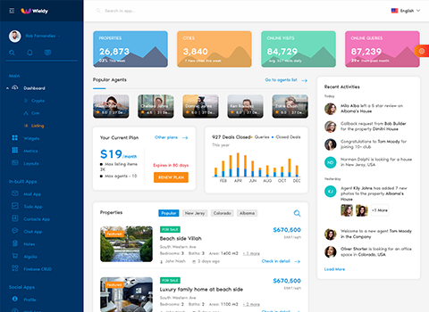 listing dashboard admin template ant design react admin dashboard template by g-axon